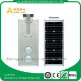 Factory Direct IP65 Bridgelux 25W Solar LED Street Light Preço
