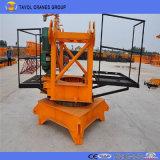 Qtz160 Equipamento de Construção 16 Ton Crane Topkit Tower Crane