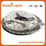 Tiras brillantes estupendas de la luz de SMD 5630 RGB LED para las alamedas