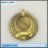 3D彫版のカスタムメダル旧式な真鍮メダル硬貨の軍隊賞