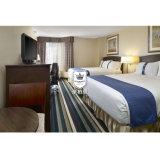 Американский комплект мебели спальни гостиницы рамки твердой древесины типа