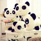 Jouets bourrés par peluche lombaire personnalisés de coussin de paliers de panda d'animaux d'émotion