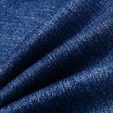 Голубая Viscose ткань Spandex полиэфира для джинсыов джинсовой ткани