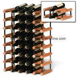 Шкаф вина тимберса хранения бутылки металла и древесины Bordex DIY
