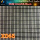 Polyester-Check-Hinweis-Waren, Gewebe (X061-9) zeichnend