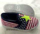最新のデザインスリップオンの子供(FF924-12)のための偶然のズック靴