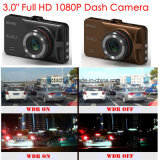 """Câmera de carro Full Full HD1080p com tela 3.0 """"TFT, sensor G, câmera de carro 5.0mega, ângulo de visão 170deg, visão noturna, carro LED IR DVR-3031"""