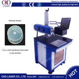 Máquina caliente de la marca del laser del CO2 de la venta 50W del laser de la CKD para el grabado del no metal