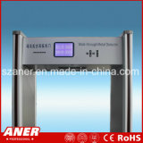 Detector de metales del marco de puerta de la sensibilidad del fabricante de China alto con 24zones