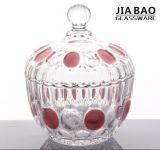 ガラス記憶の瓶かキャンデーの瓶またはSugerチョコレート鍋(GB1812YD)