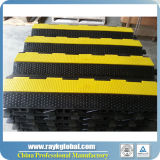 3 Canais PU Plastic Heavy Duty Cable Ramp