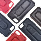 Caja del teléfono celular Funda de cuero suave de TPU para Samsung J7prime S8 J7 (2017) TPU para Huawei P9lite Mate9 TPU + cuero + Amortiguación material 3en1 stent cáscara del teléfono móvil