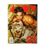 Offset Paper Custom Fashion Magazine Printing