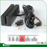 RS232, Ttl, USB-Schnittstellen-neu programmierbarer magnetischer Streifen-Kartenleser Msr100 mit freier Software für GPS Gleichlauf-System