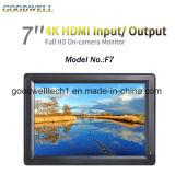 """4k volledige HD HDMI Input& Output 7 het """" LCD Scherm"""