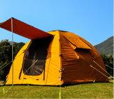 ポリエステルキャンプテント2人のための膨脹可能な面のテント