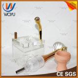 1 Waterpijp van het Roestvrij staal van de Slang van de reeks de Enige Acryl