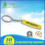 Metallo personalizzato Keychain con l'anello portachiavi collegamenti di quattro e del materiale d'ottone