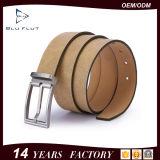 Les courroies des hommes en cuir métallisés de courroie de prix bas de couturier