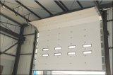 Portello scorrevole di alluminio sezionale del magazzino con la certificazione del Ce