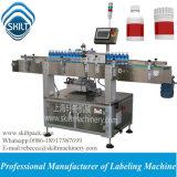 Máquina de etiquetado caliente de la escritura de la etiqueta de la etiqueta engomada de la botella redonda de la venta 500ml