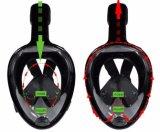 Máscara panorâmica de snorkel panorâmica de 180 graus