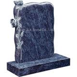 Monumenti poco costosi del Headstone del granito di prezzi con le rose