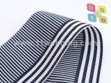 Tessitura di nylon falsa di colori neri e verdi per gli accessori dell'indumento