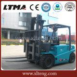 Chariot élévateur électrique neuf de 5 tonnes de bonne qualité de Ltma avec le mât en deux étapes