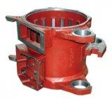 CNC подвергал поворачивая филируя случаи механической обработке коробки alxe луча хомутов рамок поддержки рамок снабжений жилищем статора тракторного двигателя электрического привода железнодорожного паровоза отливки