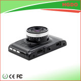 3.0クラッシュのDetectoinの黒いカラーのインチ車DVRのビデオレコーダー
