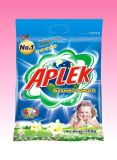 1kg het Poeder van de Wasserij van de verpakking met Nice bloemen-Myfs227