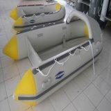 Fabrik-direktes Cer steifes aufblasbares Diplomboot, versehen aufblasbares Boot mit einer Garantie 5 Jahre mit Rippen