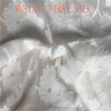 Tela de seda do jacquard de /Cotton, tela do grampo do algodão de seda,