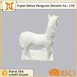 Ofício branco Paintable do cavalo da gipsita do brinquedo de DIY para o presente Desktop