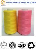 Polyester 100% gesponnenes Garn-Polyester-nähendes Garn in der guten Qualität