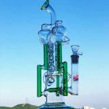 Tubo di acqua di fumo di vetro degli impianti offshore della LIMANDA dell'uovo del riciclatore del Borosilicate