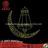 Водоустойчивые света украшения улицы пем СИД Eid Рамазан с формой звезды и луны