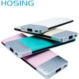La Banca senza fili portatile poco costosa di potere del polimero 6000mAh di nuovo disegno per il telefono mobile universale