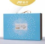 Ecoの余暇の優雅なハンドルのボール紙の食糧パッケージボックス