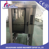 Forno giratório do cozimento da conveção do halogênio elétrico da máquina do alimento do equipamento da padaria