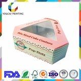 ケーキの包装ボックスのための正方形のかわいいペーパーギフト用の箱