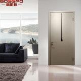 Puerta exterior del diseño del sitio de madera de lujo de la nuez para la casa (GSP2-103)