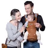 風の帽子が付いている通気性の情報通のシートの綿の赤ん坊の覆いのキャリア