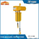 Élévateur à chaînes électrique lourd de 3 tonnes avec la protection de surcharge