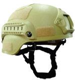 戦術的なケブラーの防弾憲兵のヘルメット