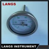 """006 2 """"高品質のバイメタルの管の温度計"""
