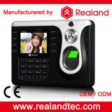 Het de Biometrische Kaart RFID van Realand en Systeem van de Opkomst van de Tijd van de Vingerafdruk