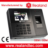 Sistemas biométricos do comparecimento da impressão digital e do cartão de Realand