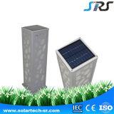 Indicatore luminoso solare esterno di alluminio del giardino di buona prestazione di alta qualità di brevetto di SRS